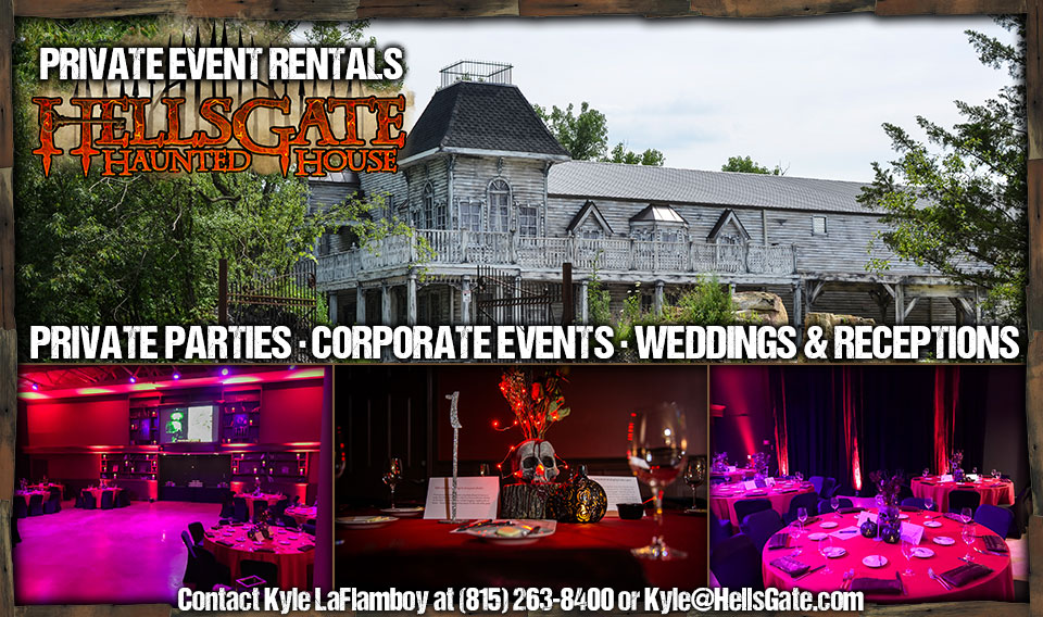 Private Rentals at HellsGate Haunted House